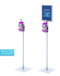 Hand Sanitizer Wipes Stand
