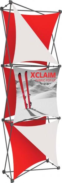 XClaim 2.5' Fabric Pop Up Display Kit 4