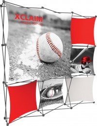 XClaim 8' Fabric Pop Up Display Kit 3