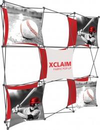 XClaim 8' Fabric Pop Up Display Kit 4