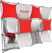 XClaim 10' Fabric Pop Up Display Kit 4