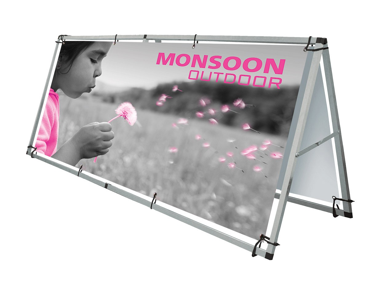 Outdoor Banner Stands Buy Portable Canopy Tent Banner Frames Power Graphics Com