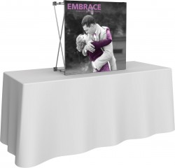 Embrace 2.5' Table Top Front Replacement Graphic