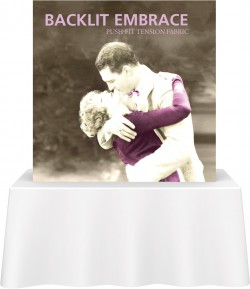 Embrace Backlit 5' Table Top Back Replacement Graphic