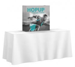 Hopup 2.5'x2.5' Full Replacement Graphic with End Caps