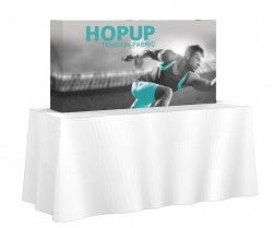 Hopup 5'x2.5' Full Replacement Graphic with End Caps