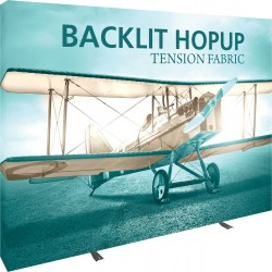 Backlit Hopup 10' Straight Replacement Graphic