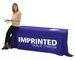 Imprinted Table Cover for 6 foot Table