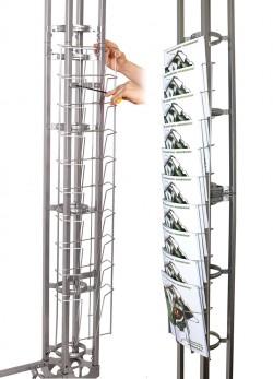 Orbital Truss Literature Rack