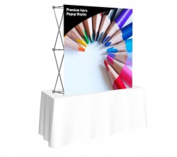 Premium Fabric Popup 5' x 5' Front Replacement Graphic