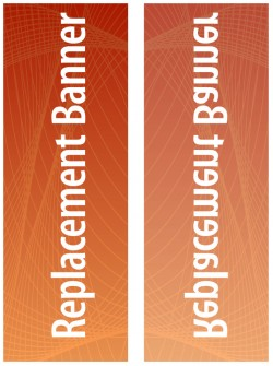 Medium Expand Flagstand 1 Replacement Banner