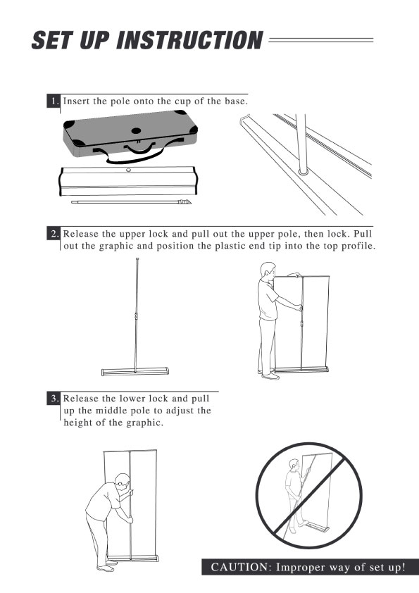 pull up banner instructions pdf