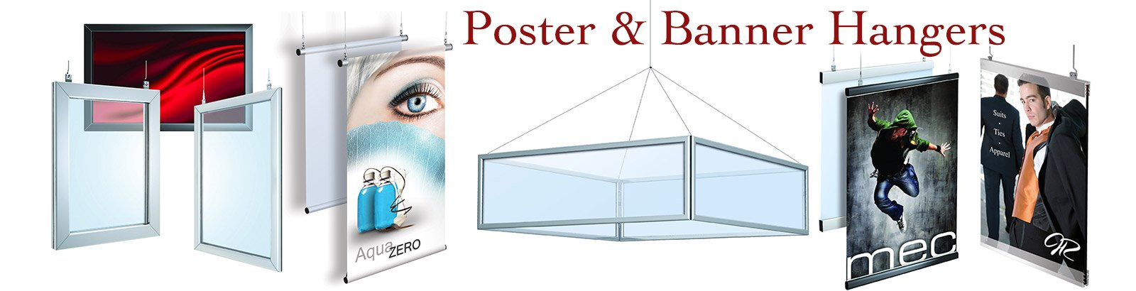Poster and Banner Hanging Hardware