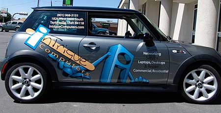 Power Graphics Partial Vehicle Wrap